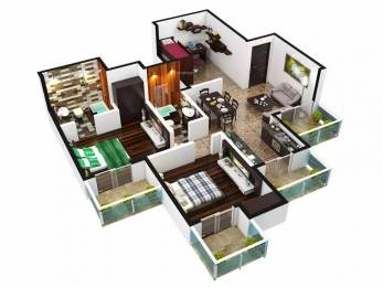 1090 sqft, 2 bhk Apartment in Arihant Arden Sector 1 Noida Extension, Greater Noida at Rs. 41.5100 Lacs