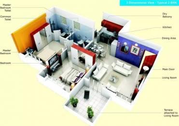 870 sqft, 2 bhk Apartment in Shagun Sunshine Hills Undri, Pune at Rs. 38.0000 Lacs