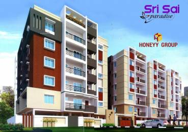 1145 sqft, 2 bhk Apartment in Builder Sri sai paradise PMPalem, Visakhapatnam at Rs. 42.3650 Lacs