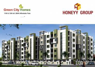 1200 sqft, 2 bhk Apartment in  Green City Homes Auto Nagar, Visakhapatnam at Rs. 32.0000 Lacs