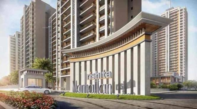 1099 sqft, 2 bhk Apartment in Rishita Manhattan Gomti Nagar Extension, Lucknow at Rs. 36.0000 Lacs