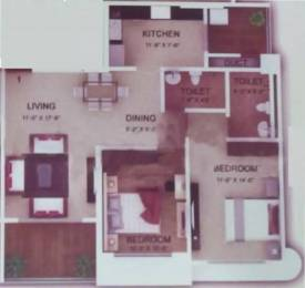 1300 sqft, 2 bhk Apartment in  Garden Grove Phase 2 Borivali West, Mumbai at Rs. 40000