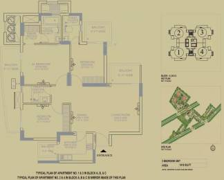 1818 sqft, 3 bhk Apartment in DLF The Primus Sector 82A, Gurgaon at Rs. 30000