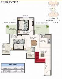 636 sqft, 2 bhk Apartment in Supertech The Valley Sector 78, Gurgaon at Rs. 23.1650 Lacs