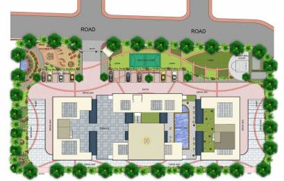 2198 sqft, 3 bhk Apartment in Manjeera Trinity Sky Villas Kukatpally, Hyderabad at Rs. 1.2000 Cr