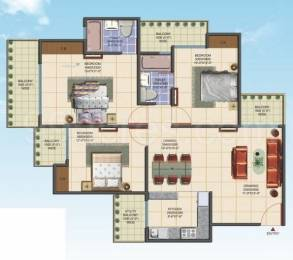 1450 sqft, 3 bhk Apartment in Aims Golf Avenue Phase 1 Sector 75, Noida at Rs. 70.0000 Lacs