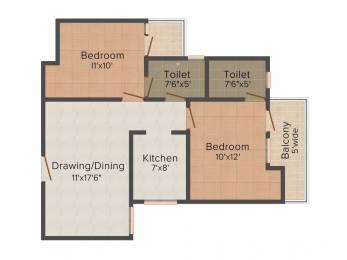 1045 sqft, 2 bhk Apartment in VVIP Addresses Raj Nagar Extension, Ghaziabad at Rs. 9000