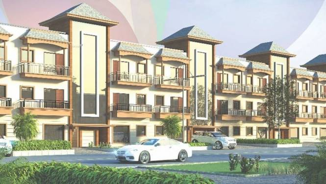 945 sqft, 3 bhk Villa in Primary Arcadia Canadian Villas Sector 124 Mohali, Mohali at Rs. 43.9000 Lacs