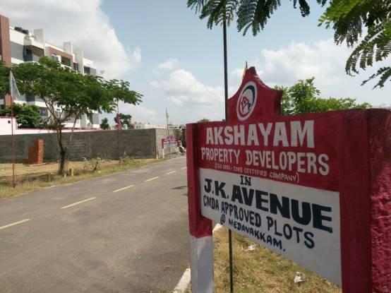 1000 sqft, Plot in Vamanan JK Avenue Medavakkam, Chennai at Rs. 54.0000 Lacs