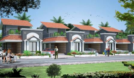 1000 sqft, 2 bhk Villa in Builder Swastik Kalpvriks Villa Old Dhamtari Road, Raipur at Rs. 26.9000 Lacs