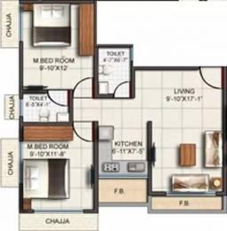835 sqft, 2 bhk Apartment in Shraddha David Chawl Bhandup West, Mumbai at Rs. 95.0000 Lacs