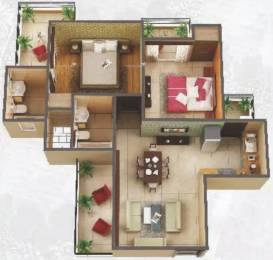 995 sqft, 2 bhk Apartment in Amaatra Homes Sector 10 Noida Extension, Greater Noida at Rs. 32.5000 Lacs