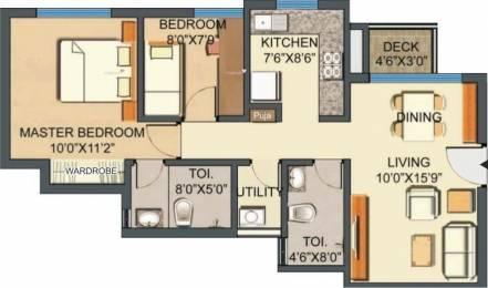 972 sqft, 2 bhk Apartment in Lodha Casa Royale Thane West, Mumbai at Rs. 80.0000 Lacs