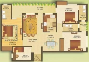 1700 sqft, 3 bhk Apartment in Gardenia Gateway Sector 75, Noida at Rs. 15000