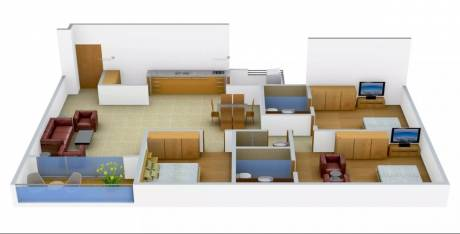 2500 sqft, 3 bhk Apartment in Advance Le Jardin Ellisbridge, Ahmedabad at Rs. 1.5000 Cr