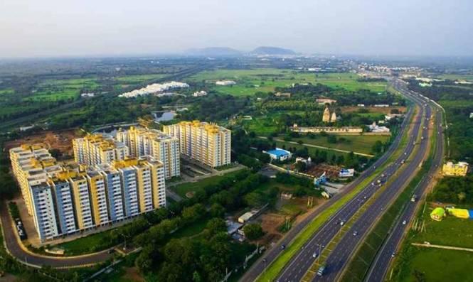 1200 sqft, 2 bhk Apartment in Builder Raintree park Dwaraka Krishna Kaza, Guntur at Rs. 46.8000 Lacs