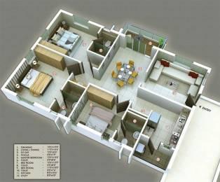 1800 sqft, 3 bhk Apartment in S and S Green Green Fields Poranki, Vijayawada at Rs. 81.0000 Lacs