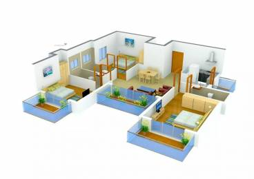 1750 sqft, 3 bhk Apartment in SS The Coralwood Sector 84, Gurgaon at Rs. 80.0000 Lacs