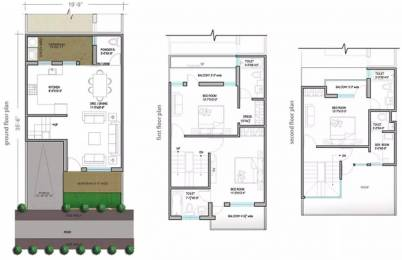 1742 sqft, 3 bhk Villa in Paramount Golfforeste Villas Zeta, Greater Noida at Rs. 60.0000 Lacs