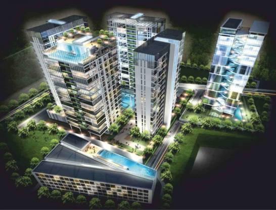 1004 sqft, 2 bhk Apartment in Ram Pushpanjali Residency Phase III Villa Thane West, Mumbai at Rs. 85.0000 Lacs