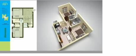 1050 sqft, 2 bhk Apartment in Builder Project Behala, Kolkata at Rs. 10000