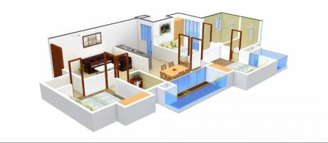 1575 sqft, 3 bhk Apartment in Unnati The Aranya Sector 119, Noida at Rs. 71.9100 Lacs