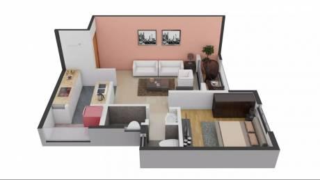 576 sqft, 1 bhk Apartment in TATA Santorini Mevalurkuppam, Chennai at Rs. 10000