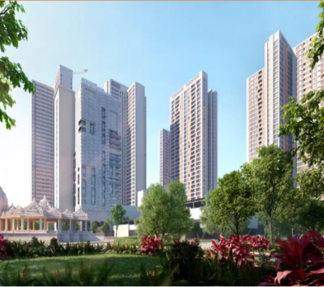 659 sqft, 2 bhk Apartment in Piramal Vyan Thane West, Mumbai at Rs. 95.0000 Lacs