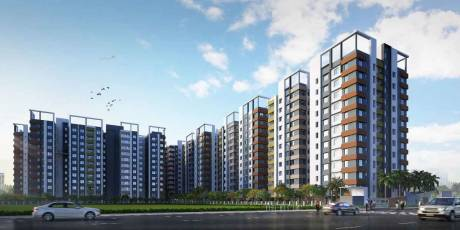 865 sqft, 2 bhk Apartment in Signum Windflower Madhyamgram, Kolkata at Rs. 24.0000 Lacs
