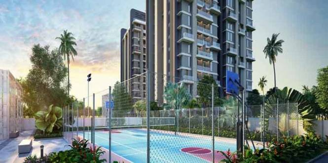 892 sqft, 2 bhk Apartment in Merlin Verve Tollygunge, Kolkata at Rs. 63.0376 Lacs