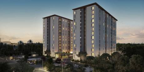 990 sqft, 2 bhk Apartment in Assetz Here and Now Thanisandra, Bangalore at Rs. 70.0000 Lacs