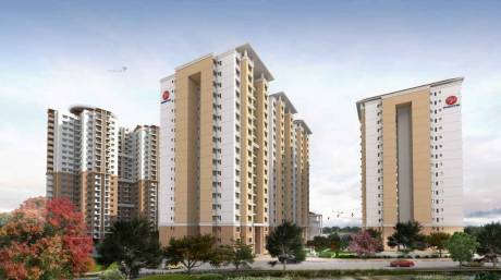 1155 sqft, 2 bhk Apartment in Mantri WebCity Kuvempu Layout on Hennur Main Road, Bangalore at Rs. 70.0000 Lacs