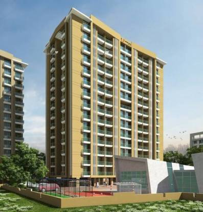 1060 sqft, 2 bhk Apartment in Arkade Art Mira Road East, Mumbai at Rs. 90.0000 Lacs