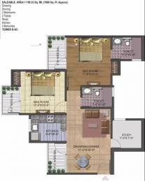 1080 sqft, 2 bhk Apartment in AIG AIG Park Avenue Sector 4 Noida Extension, Greater Noida at Rs. 45.0000 Lacs