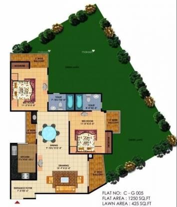 1250 sqft, 2 bhk Apartment in KDP Grand Savanna Raj Nagar Extension, Ghaziabad at Rs. 39.0000 Lacs