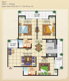 1425 sqft, 3 bhk Apartment in Bankey Aggarwal Heights Raj Nagar Extension, Ghaziabad at Rs. 42.7500 Lacs