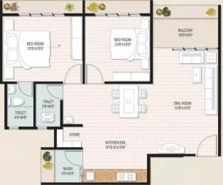 1125 sqft, 2 bhk Apartment in Bhavya Royal Homes Gota, Ahmedabad at Rs. 42.5100 Lacs
