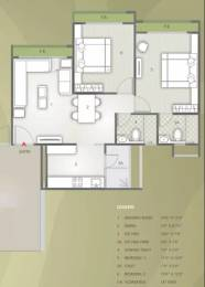 1215 sqft, 2 bhk Apartment in Safal Orchid Elegance Bopal, Ahmedabad at Rs. 17500