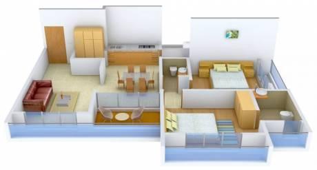 1355 sqft, 2 bhk Apartment in Sangani Shaligram Lakeview Near Vaishno Devi Circle On SG Highway, Ahmedabad at Rs. 12000