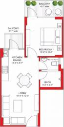 553 sqft, 1 bhk Apartment in Signature Grand Iva Sector 103, Gurgaon at Rs. 14.5900 Lacs