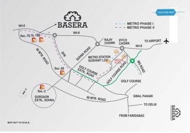 850 sqft, 2 bhk Apartment in Supertech Basera Sector 79, Gurgaon at Rs. 19.2850 Lacs