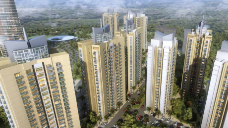 1800 sqft, 3 bhk Apartment in Shalimar Oneworld Vista gomti nagar extension, Lucknow at Rs. 64.4000 Lacs