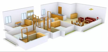 2165 sqft, 3 bhk Apartment in Shree Balaji Wind Park Near Nirma University On SG Highway, Ahmedabad at Rs. 1.4500 Cr