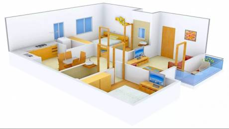 1105 sqft, 2 bhk Apartment in AR SM Tranquil Whitefield Hope Farm Junction, Bangalore at Rs. 38.5000 Lacs
