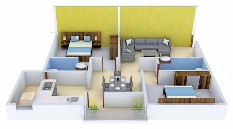 1093 sqft, 2 bhk Apartment in Star AR Splendor Park Kalyan Nagar, Bangalore at Rs. 43.2550 Lacs