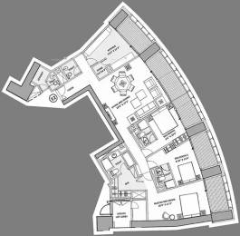 2826 sqft, 3 bhk Apartment in Lodha World Crest Lower Parel, Mumbai at Rs. 2.5000 Lacs