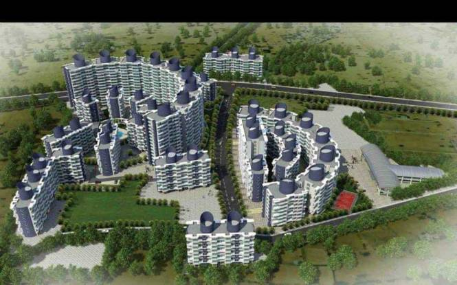 672 sqft, 1 bhk Apartment in Tharwani Vedant Millenia Titwala, Mumbai at Rs. 29.7717 Lacs