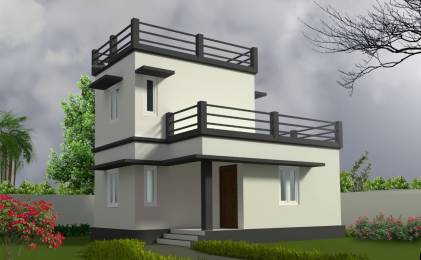 700 sqft, 2 bhk Villa in Chathamkulam Builders Temple Park Koottupaatha, Palakkad at Rs. 27.0000 Lacs