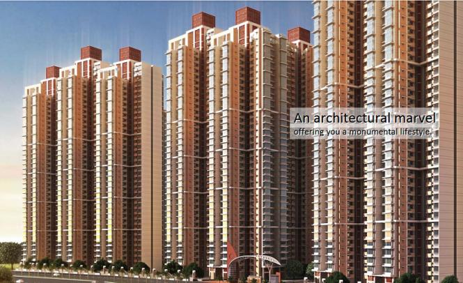 825 sqft, 2 bhk Apartment in Marathon Nexzone Panvel, Mumbai at Rs. 85.0000 Lacs