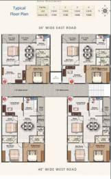 1130 sqft, 2 bhk Apartment in Builder MJR Sai Habitat Karmanghat, Hyderabad at Rs. 44.0000 Lacs